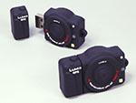 Lumix Kamera Digitalkamera Fotoapparat mit USB-Stick in Sonderform