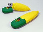 Mais Maiskolben USB-Stick in Wunschform mit Logo