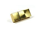 Metall USB Stick Gold mit Logo für Firmenevents mit Datenbespielung