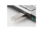 Vollmetall USB-Stick in der Anwendung