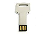 Eckiger Schlüsselbund USB-Stick mit Logo
