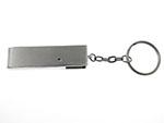 Metall USB-Stick zum Drehen mit Bügel und Logogravur