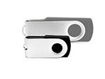 Mini Twister USB-Stick mit Bügel zum drehen bedrucken udn gravieren eines logos
