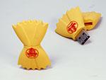 Nudel Pasta Farfalle USB-Stick mit Logo in Sonderform