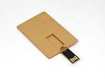 Ökologische Mini USB-Stick Karte für den Geldbeutel