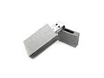 Öko USB-Stick aus Papierfasern Recycling Werbemittel