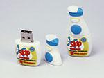 Reiniger Flasche Verpackung für Flüssigkeiten Sprühflasche mit Logo als USB-Stick
