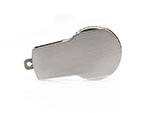 Runder Werbeartikel USB-Stick aus Metall zum drehen