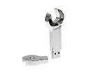 Schraubenschluessel USB-Stickaus Metall