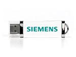 Siemens Crystal USB-Stick mit Logo bedruckt
