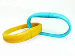 silikonarmband mit USB-Stick in vielen Farben