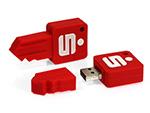 Schlüssel USB-Stick der Sparkasse