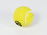 Tennisball mit Logo als USB-Stick