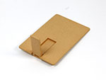 Umweltfreundliche flache USB-Stick Karte aus PLA