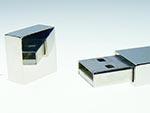 USB-Stick Anschluss eines Mteall USB-Sticks