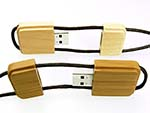 USB-Stick aus Holz mit Logo für den Wiederverkauf