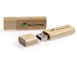 USB-Stick Beltfood Holz Stick
