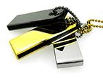 USB-Stick im Mini Format in Silber Gold und Anthrazit