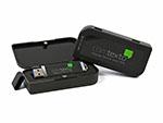 Kunststoff USB-Stick in Geschenkbox mit Branding