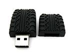 USB-Stick mit individuellem Reifenprofil