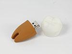 USB-Stick PVC Zahn in wunschform und vielen Farben