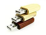 Werbeartikel Holz USB Stick mit Logo als Give Away