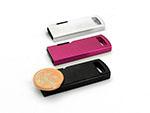 Werbeartikel Mini USB-Sticks in vielen Farben aus Metall