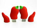 Werbeartikel Pepperoni USB-Stick in wunschfarbe und logo zu aufdrucken