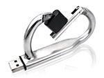 Werbeartikel USB-Stick als Karabiner