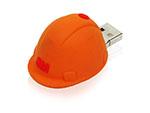 Werbeartikel USB-Stick in der Form eines bauhelms